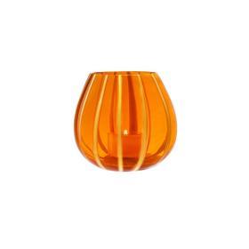 Lanterna Pisello/Arancio & 4 Tealight Miste