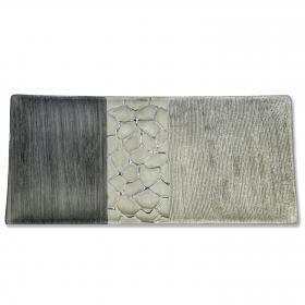 Formano - Dekoschale silber-grau 30 cm