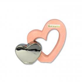 Formano - Doppelherz Pastell 13 cm