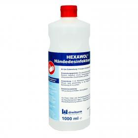HEXAWOHL - Handdesinfektion 1000 ml
