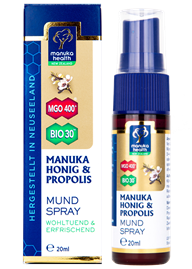 Manuka Honig & Propolis Mundspray MGO 400+