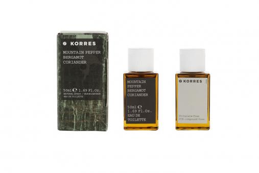 Mountain Pepper,Bergamot,Coriander EdT