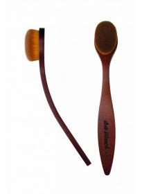 Rougepinsel / Konturpinsel / Highlighterpinsel / Oval Brush (Kunstfaser)